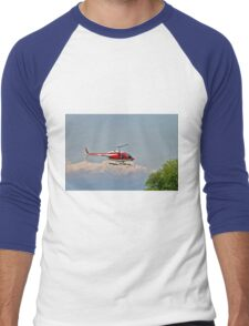 Vigili del Fuoco VF 80 Agusta A109 Power Helicopter  Men's Baseball ¾ T-Shirt