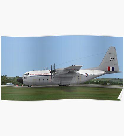 Royal Australian Air Force C-130 Hercules Poster