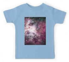 Colorful Galaxy Nebula Kids Tee