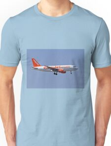 EasyJet Airbus A319 at Milan - Malpensa (MXP / LIMC) Italy Unisex T-Shirt