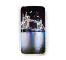 Tower Bridge at Night Samsung Galaxy Case/Skin