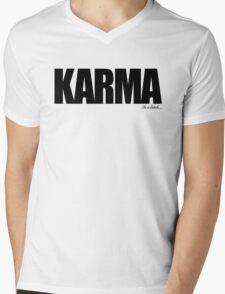 KARMA Problems Mens V-Neck T-Shirt