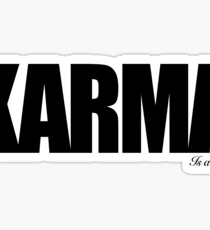 KARMA Problems Sticker