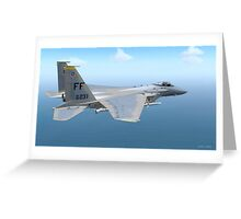 F-15 Strike Eagle Greeting Card