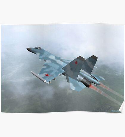 Mig-29a Poster