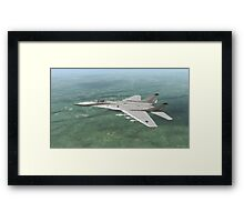 German Ikoyan MiG-29a ( Fulcrum ) Framed Print