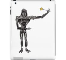 Cute Cylon with a Wand iPad Case/Skin