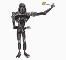 Cute Cylon with a Wand Kids Clothes