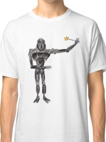 Cute Cylon with a Wand Classic T-Shirt