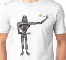 Cute Cylon with a Wand Unisex T-Shirt
