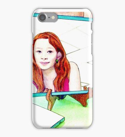 Girl in the Mirror iPhone Case/Skin