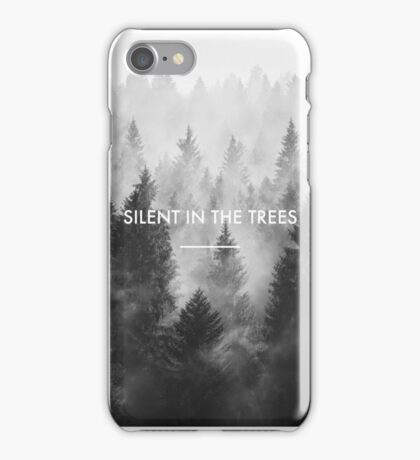 Silent in the Trees - Trees (twenty one pilots) iPhone Case/Skin