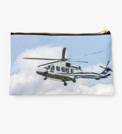 Agusta-Westland AW-139 helicopter Photographed in Italy Studio Pouch