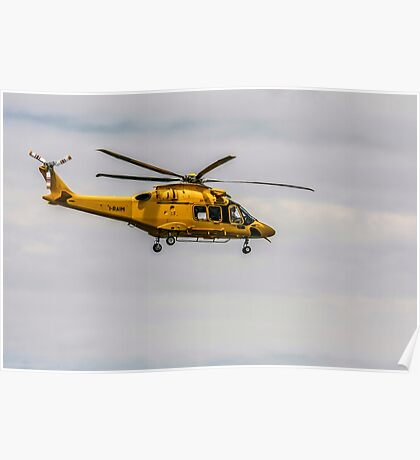 Privately owned agustawestland AW189 helicopter Photographed in Italy Poster