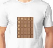 Sweet and smooth chocolate design Unisex T-Shirt