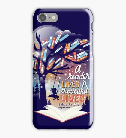 Thousand lives iPhone Case/Skin