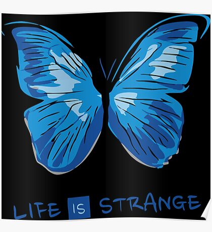 LIFE IS STRANGE - BUTTERFLY Poster