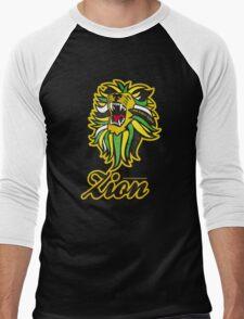 IRON LION ZION Men's Baseball ¾ T-Shirt