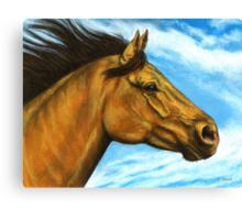 Free to Run Canvas Print