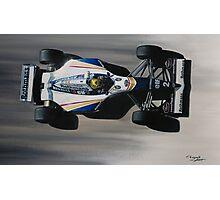 Ayrton Senna - Williams Renault FW16 Photographic Print