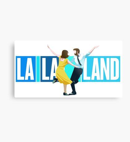 La La Land Musical Metal Print