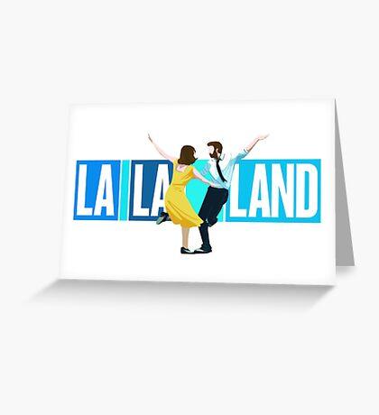 La La Land Musical Greeting Card