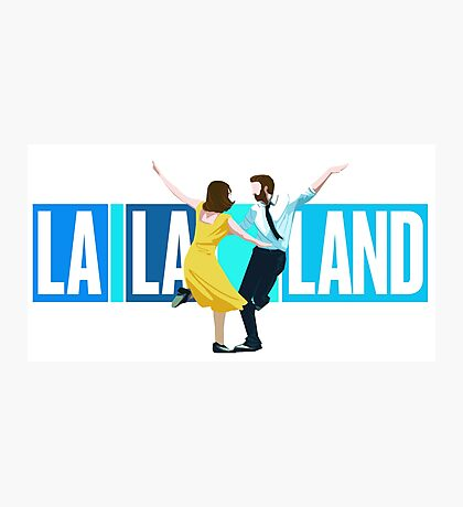 La La Land Musical Photographic Print