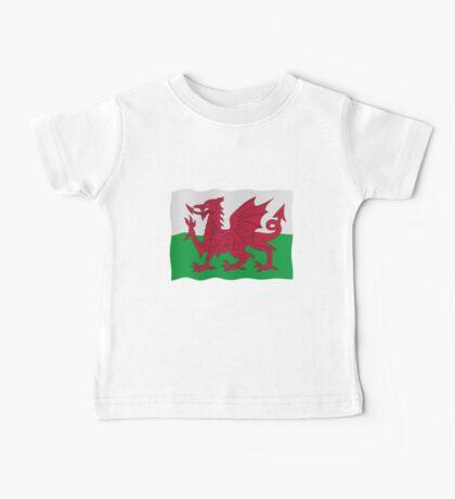 Welsh flag Baby Tee