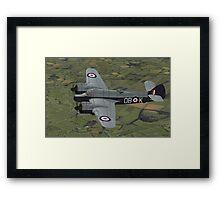 Bristol Beaufighter. (Whispering Death) Framed Print