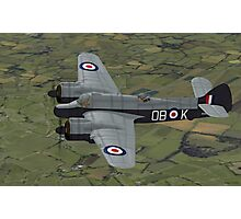 Bristol Beaufighter. (Whispering Death) Photographic Print