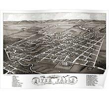 River Falls-Wisconsin-1880 Poster