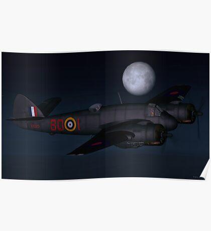 Bristol Beaufighter Nightfighter Poster