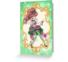 Rococo Sailor Jupiter Greeting Card