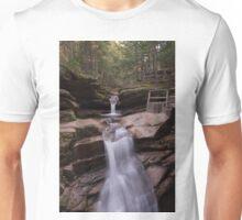Sabbaday Falls in Autumn Unisex T-Shirt