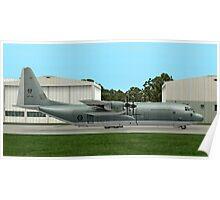 RAAF  Lockheed C-130 Hercules  Poster