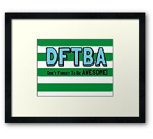 DFTBA! Framed Print
