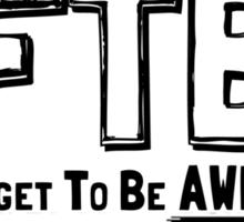 DFTBA! Sticker