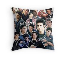 jess mariano collage Throw Pillow