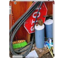 Garages Ail - Fancy Broom And Wind Chimes iPad Case/Skin