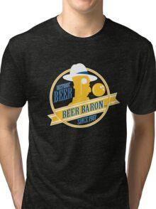 Beer Baron Tri-blend T-Shirt