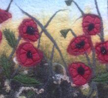 Poppies Sticker