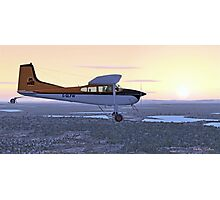 Cessna 185F Bush Plane Photographic Print