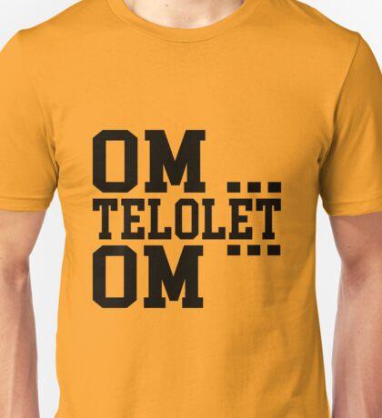 OM TELOLET OM - BLACK Unisex T-Shirt