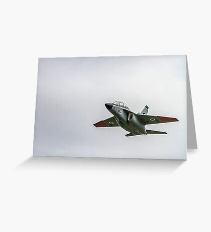 Israeli Air Force Alenia Aermacchi M-346 Master Greeting Card