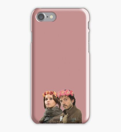 jyn erso and cassian andor iPhone Case/Skin