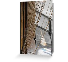 Glass Bead Curtains Greeting Card