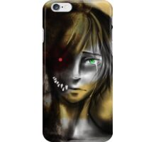 INSIDE the monster... iPhone Case/Skin
