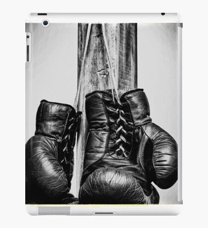 Vintage boxing gloves iPad Case/Skin