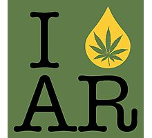 I Dab AR (Arkansas) Photographic Print
