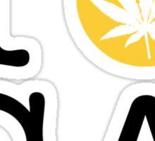 I Dab CA (California) Sticker
